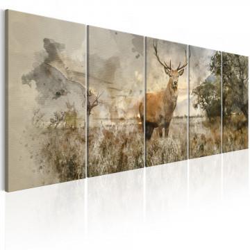Tablou - Watercolour Deer I