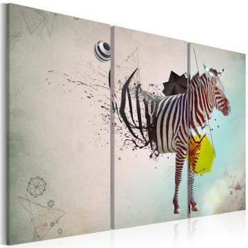 Tablou - zebra - abstract
