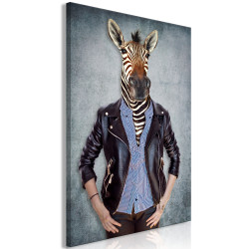 Tablou - Zebra Ewa (1 Part) Vertical