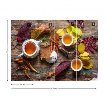 Tea Of September Photo Wallpaper Mural