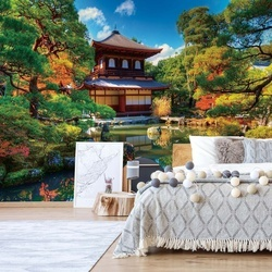 Temple Zen Japan Nature Garden Photo Wallpaper Wall Mural