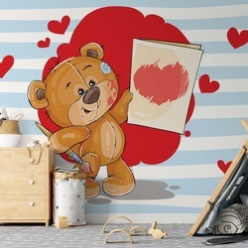 The Big Heart Bears: Love Painting