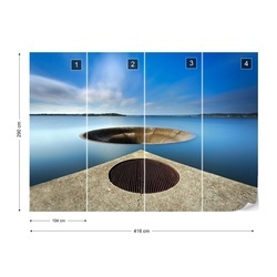 The Big Water Hole Photo Wallpaper Mural