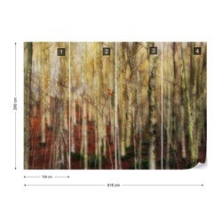 The Forest Of Ghosts Photo Wallpaper Mural