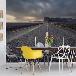 The Road Photo Wallpaper Mural