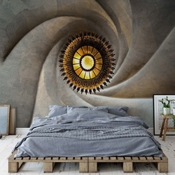 Torsional Photo Wallpaper Mural