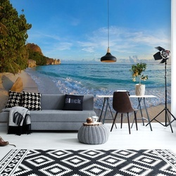 Tropical Island Beach Photo Wallpaper Wall Mural