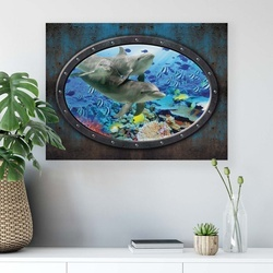 Underwater Canvas Photo Print