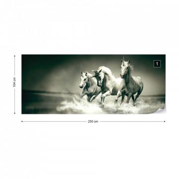 Unicorns Horses Photo Wallpaper Wall Mural