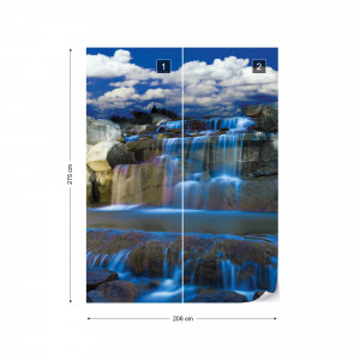 Waterfall Photo Wallpaper Wall Mural