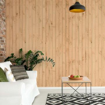 Wooden Planks Texture Photo Wallpaper Wall Mural