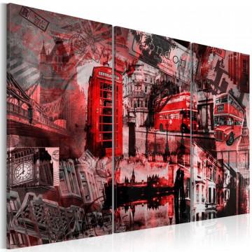 Tablou - Red London