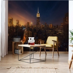 Nyc Empire State Building Photo Wallpaper Mural