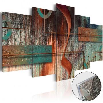 Imagine pe sticlă acrilică - Abstract Melody [Glass]