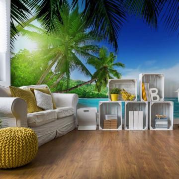 Paradise Tropical Beach Sea Sand Photo Wallpaper Wall Mural