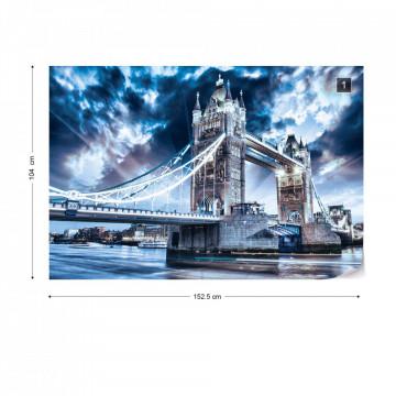 City London Tower Bridge Photo Wallpaper Wall Mural
