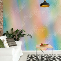 Colourful Abstract Texture Photo Wallpaper Wall Mural