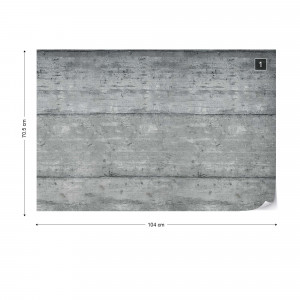 Concrete Wall Wood Texture Photo Wallpaper Wall Mural