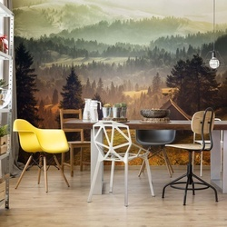Cottage With Views Photo Wallpaper Mural