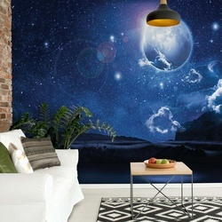 Dreamy Night Sky Photo Wallpaper Wall Mural