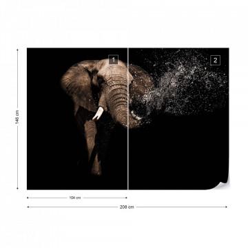 Elephant Photo Wallpaper Wall Mural