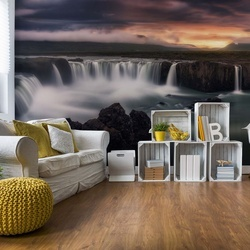 Fire And Water Photo Wallpaper Mural