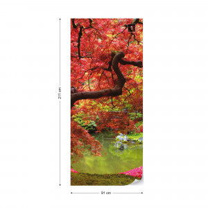 Flowers Autumn Forest Nature Photo Wallpaper Wall Mural