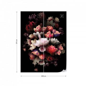 Flowers Photo Wallpaper Wall Mural