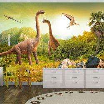 Fototapet autoadeziv - Dinosaurs