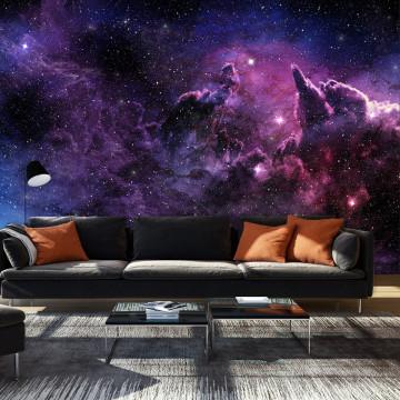 Fototapet autoadeziv - Purple Nebula