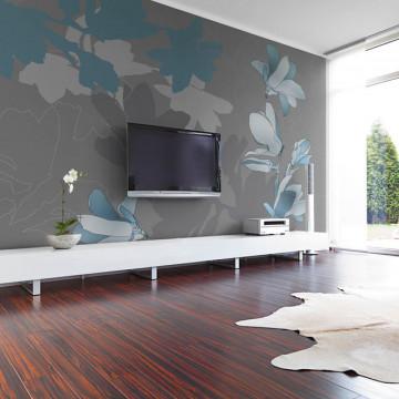 Fototapet - Blue magnolias