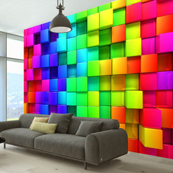 Fototapet - Colourful Cubes