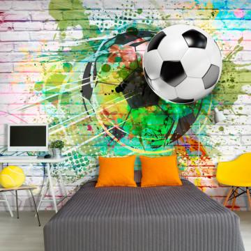 Fototapet - Colourful Sport