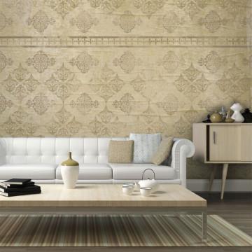 Fototapet - Faded baroque wallpaper