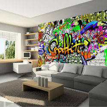 Fototapet - Graffiti on the Wall