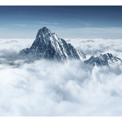 Fototapet - Mountain in the clouds