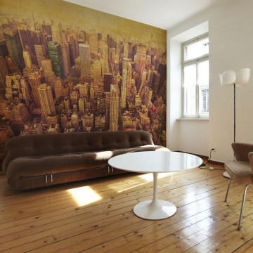 Fototapet - New York City in sepia