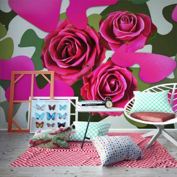 Fototapet - Pink craziness