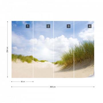 Fototapet -Plajă cu nisip fin