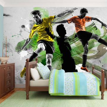 Fototapet - Soccer stars