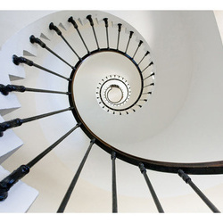 Fototapet - stairs (lighthouse)