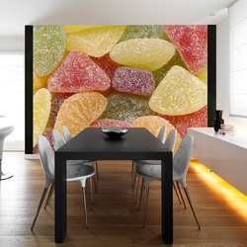 Fototapet - Tasty fruit jellies