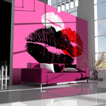 Fototapet - Three kisses