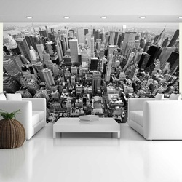 Fototapet - USA, New York: black and white