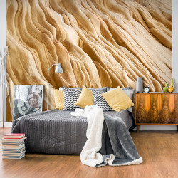 Fototapet - Wavy sandstone forms