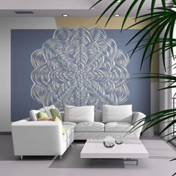 Fototapet - White ornament