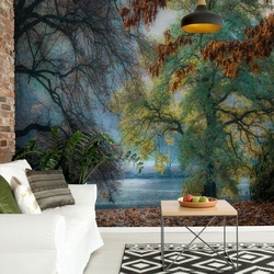 Joyful Or Melancholic Photo Wallpaper Mural
