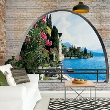 Lake Window View Photo Wallpaper Wall Mural