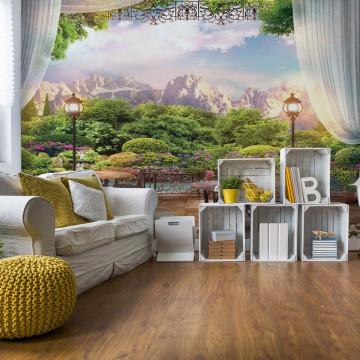 Paradise Nature View Photo Wallpaper Wall Mural