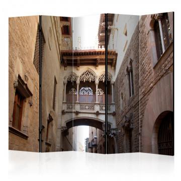 Paravan - Barcelona Palau generalitat in gothic Barrio II [Room Dividers]